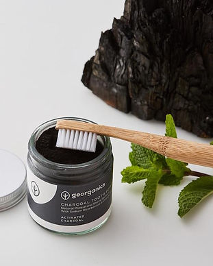 georganics charcoal toothpowder eco sustainable swaps