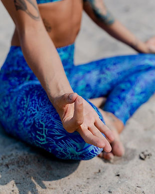 josea recycled ethical fair trade sustainable yoga leggings activewear