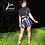 Thumbnail: Wrap Skirt Blue Plaid