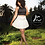 Thumbnail: Ivory Pleated Skirt