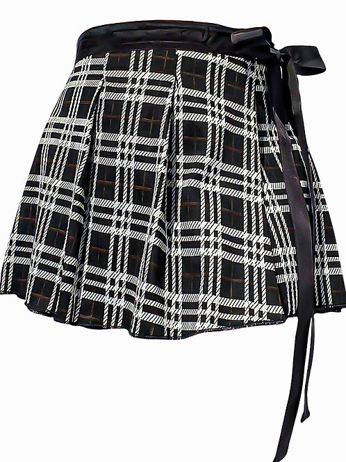 Wrap Skirt with Bow