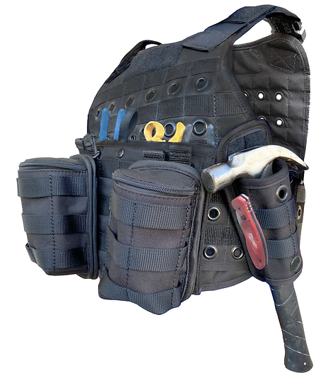 COMBO 1 - Includes: Vest - two Bags - Hammer Bag