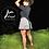 Thumbnail: Wrap Skirt White Plaid