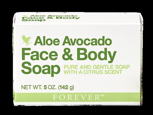 Aloe Avocado Face & Body Soap - Item# 284