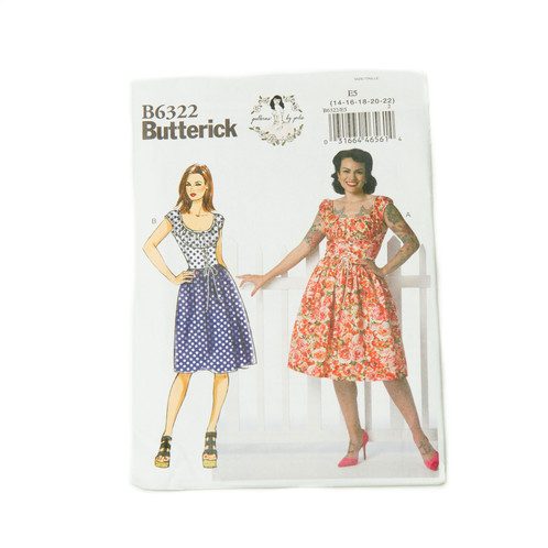 Sewing Patterns | By Gertie - Butterick B6322