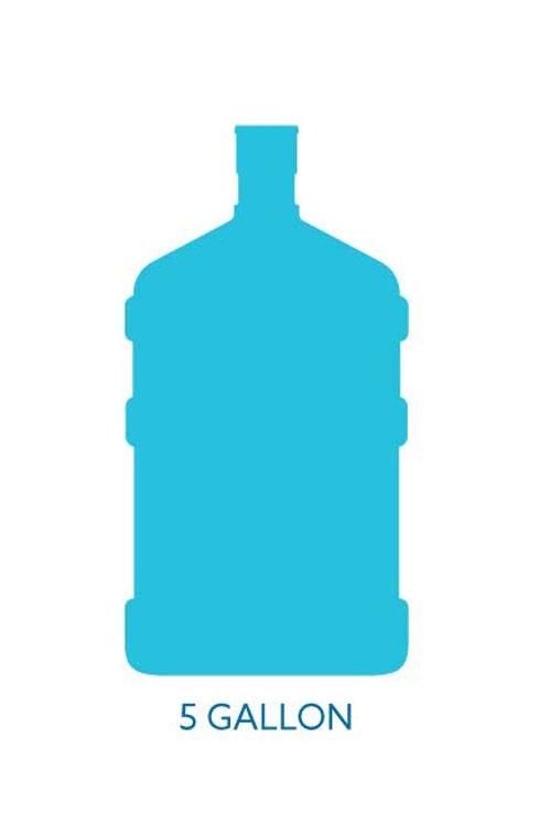 5 Gallon Bottled Water