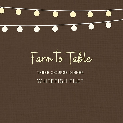 Whitefish Filet Dinner