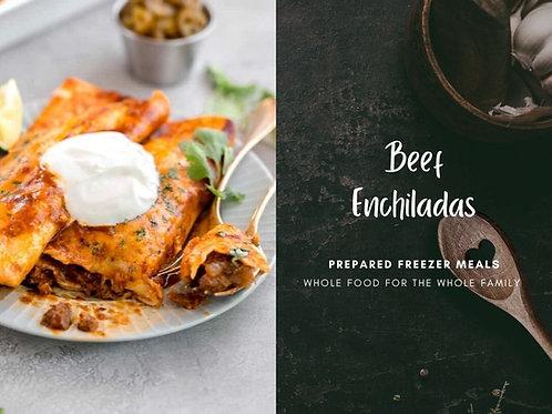 Ground Beef & Lentil Enchilada