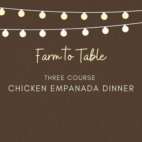 Chicken Empanadas Dinner