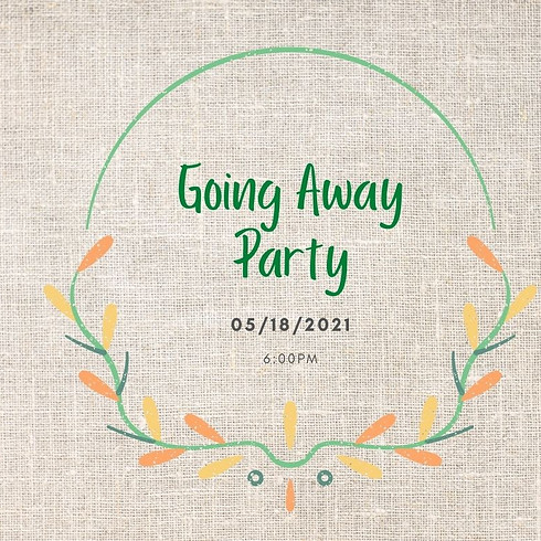 Going Away Party