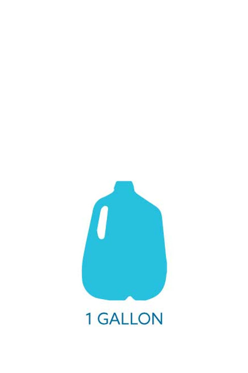 1 Gallon Bottled Water