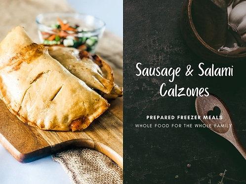 Sausage & Salami Calzone