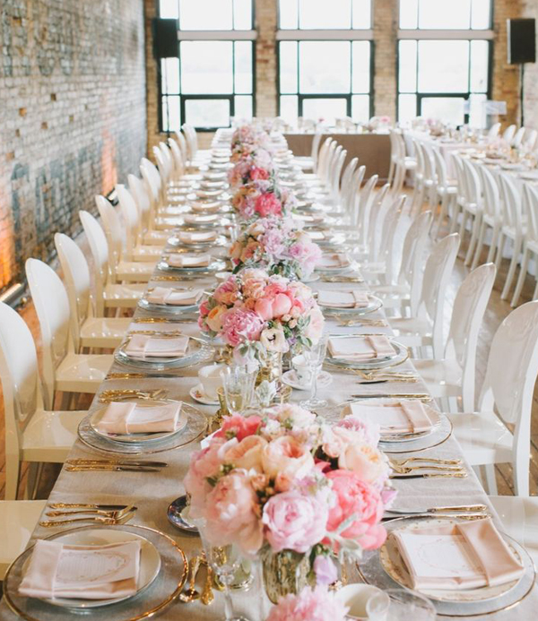 Long-Table-Pink-Wedding-Centerpiece-_Photography-Mango-Studios-Copy