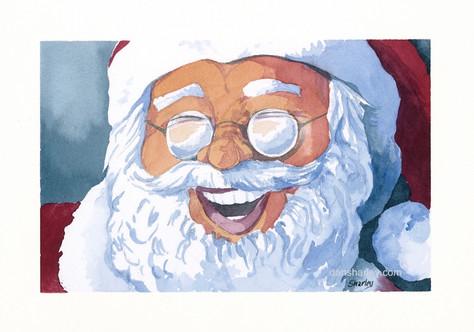 Grateful Santa