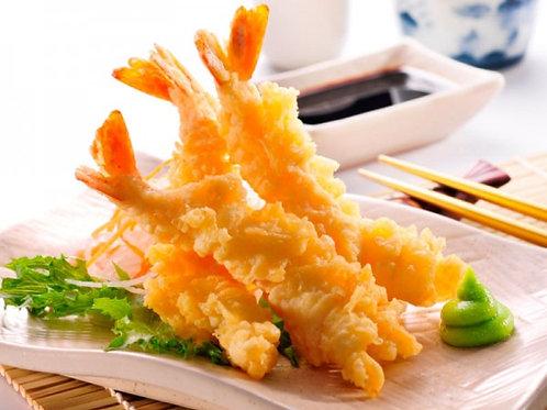 2. Scampi tempura 3stk