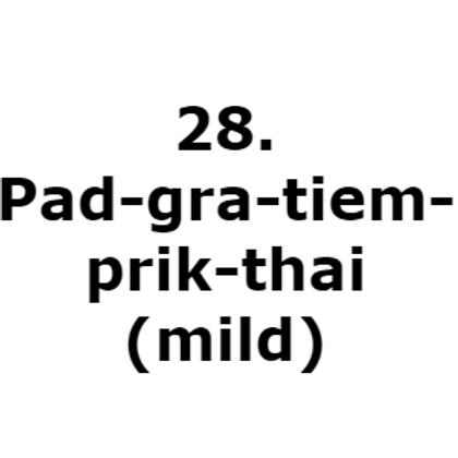 28. Pad-gra-tiem-prik-thai(mild)