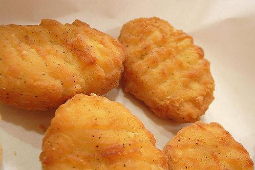 4stk. nuggets med pommesfrittes