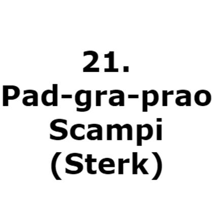 21. Pad-gra-prao-Scampi(Sterk)