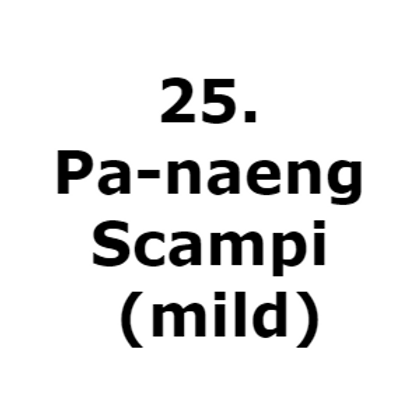 25. Pa-naeng-gung(mild)