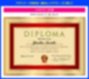 デザイナーズ:ディプロマ認定証の作り方【SPY-002】ゴールデンレット