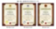 デザイナーズ認定証の作り方【SPT-003】ブラウンベージュ3段階イメージ