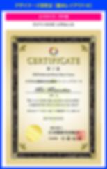 デザイナーズ認定証の作り方【SPT-008】エクセレンス