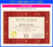 デザイナーズ:ディプロマ認定証の作り方【SPY-001】アジアンレットベージュ
