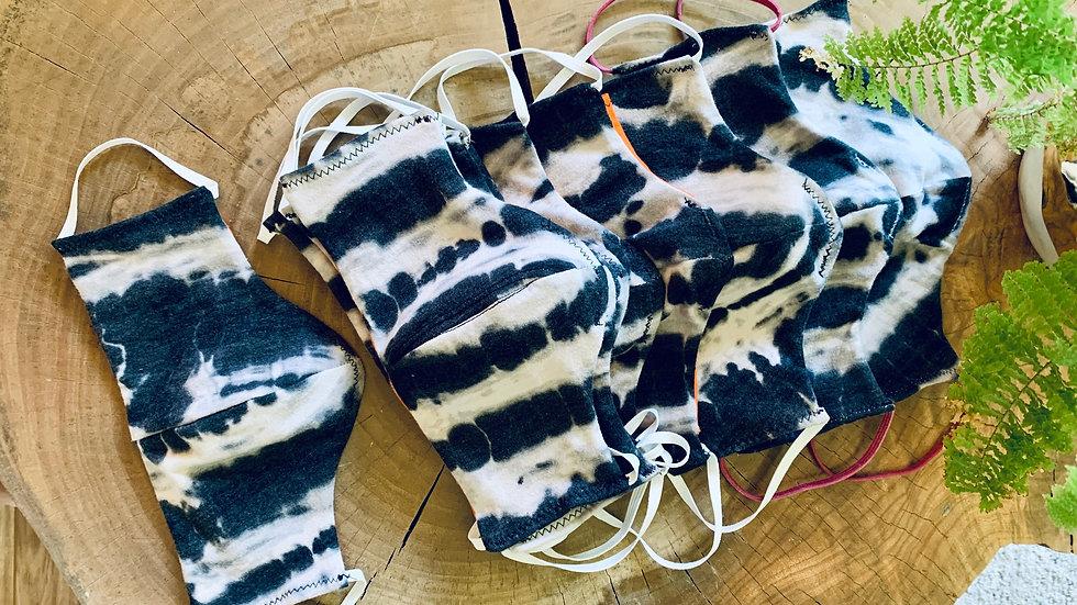 ink blot + knit mask
