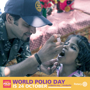 Join us for World Polio Day