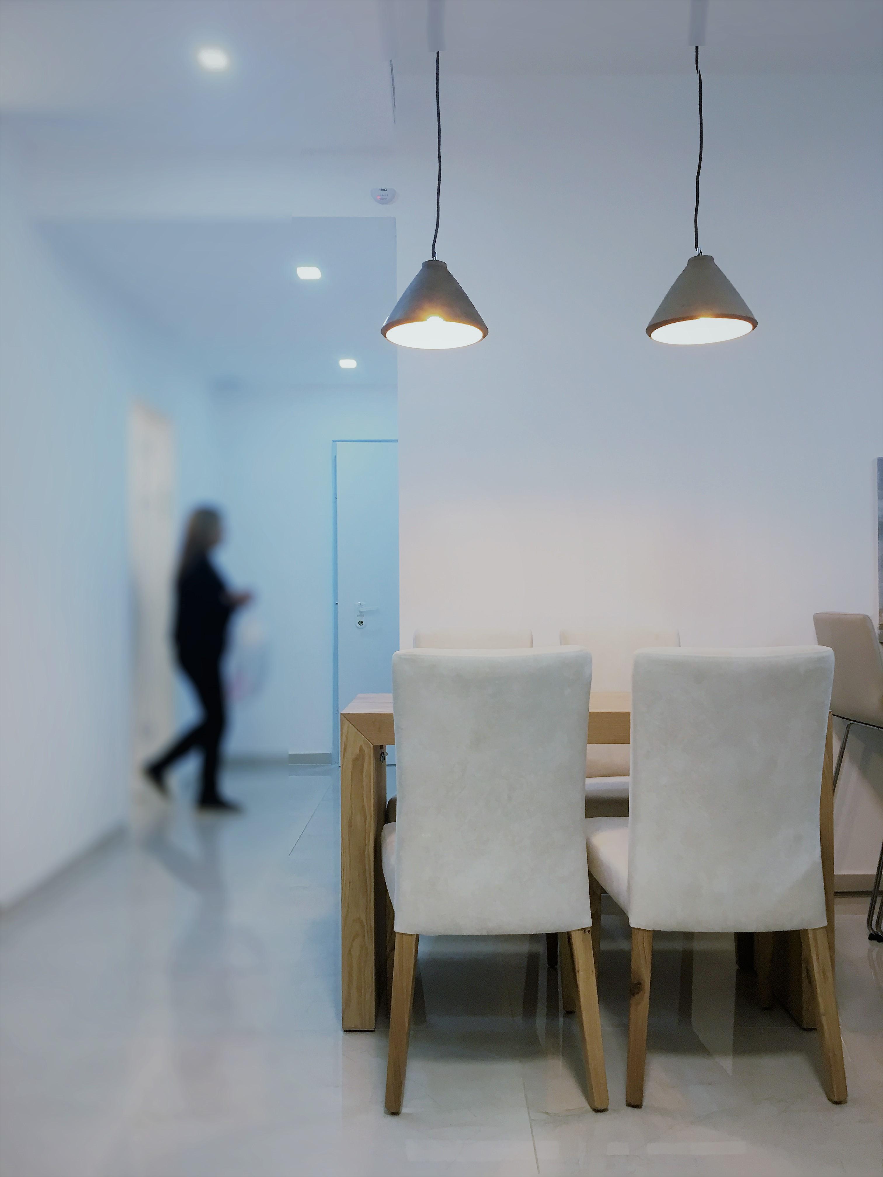 שינוי דירים - חדר אוכל