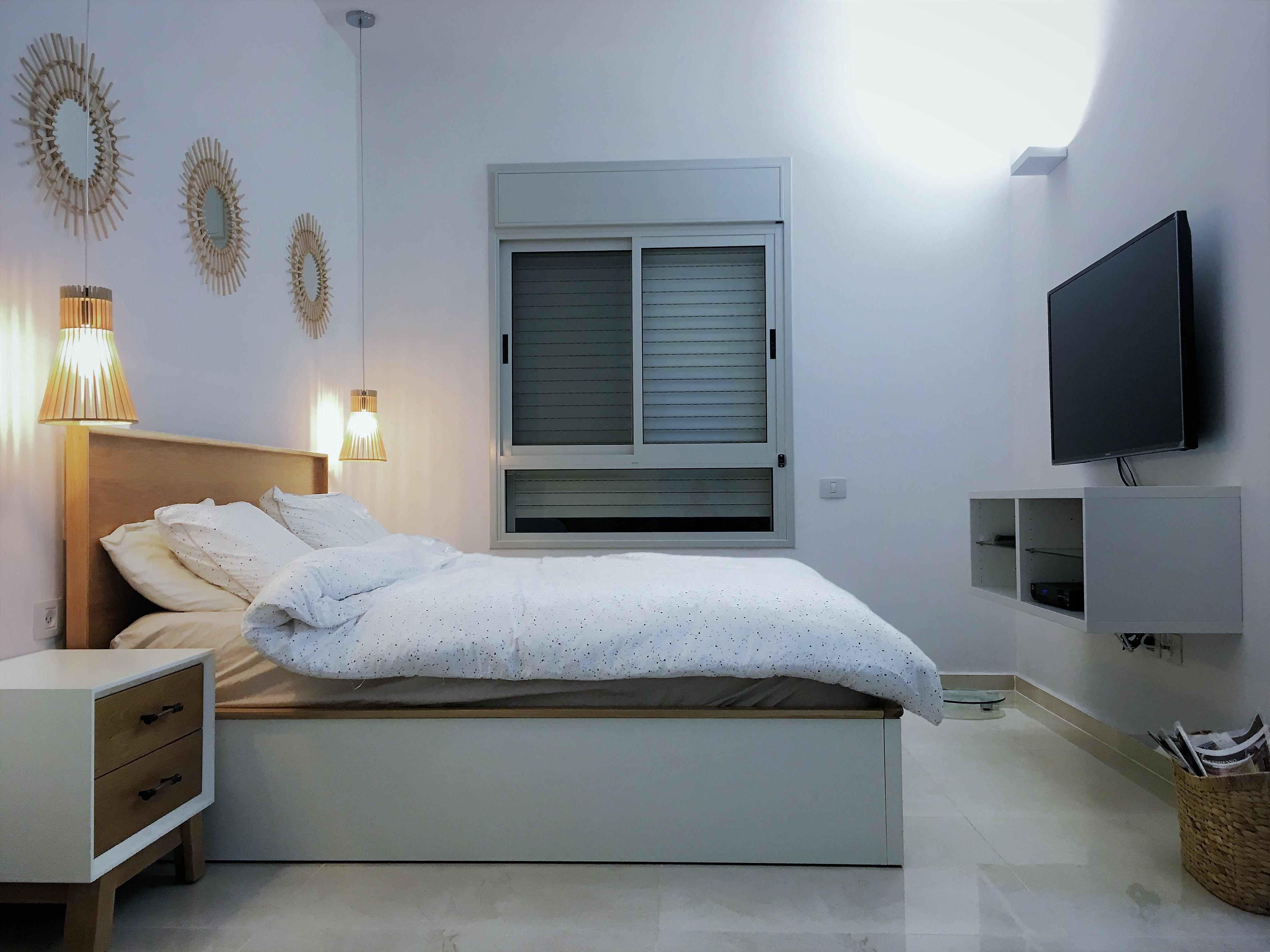 שינוי דירים - חדר שינה הורים