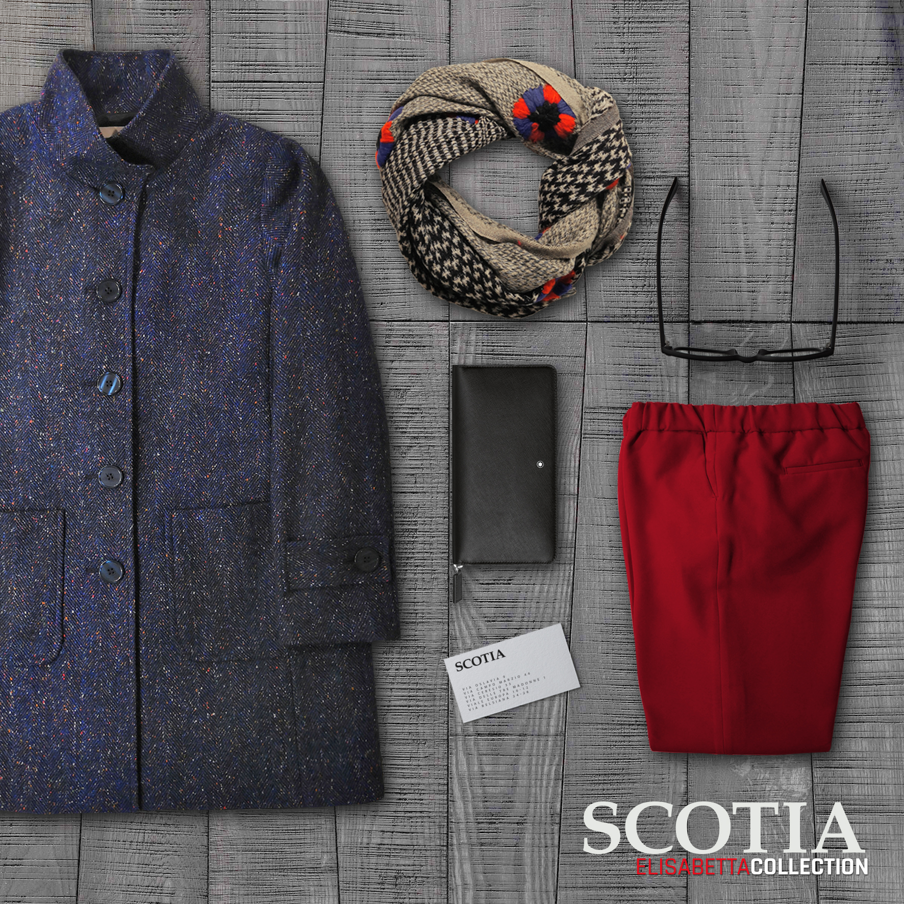 COAT - TRENDY - books SET 3a - VITTORIA