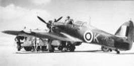 A Hurricane of WW2