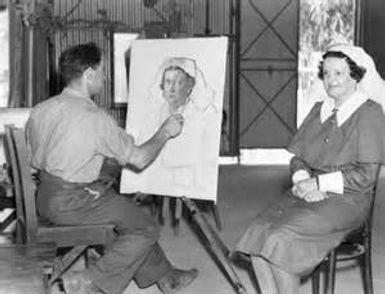 Arthur Murch Sketching