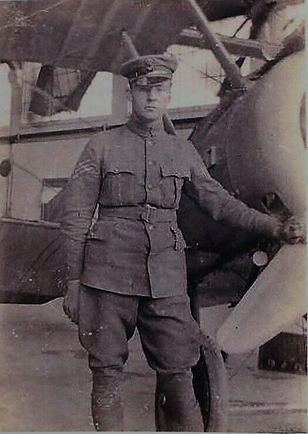 Stanley A J Wood, dashing pilot 1918