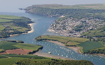 Salcombe from the air