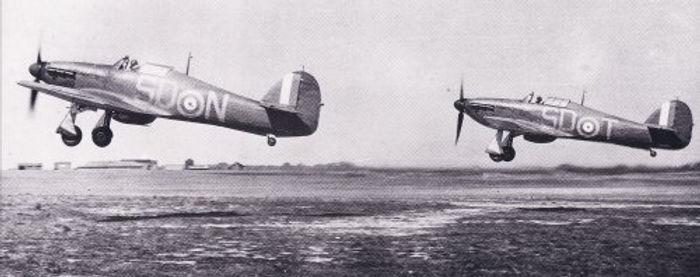 Hurricanes Flying
