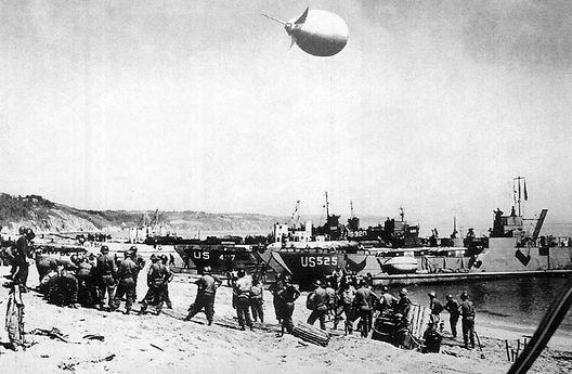 U.S Troops on Slapton Beach