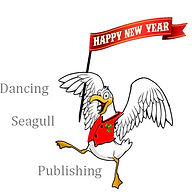 Snip of Dancing Christmas Seagull with w