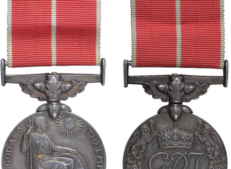 British Empire Medal up for Auction