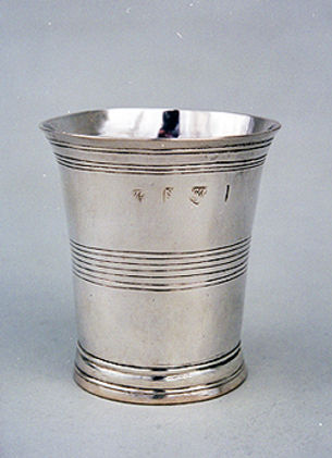A Silver Cup made by John Murch