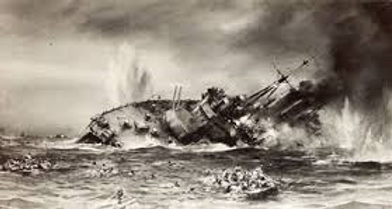 HMS Exeter Sinks
