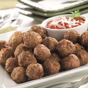 Spicy Leek Meatballs