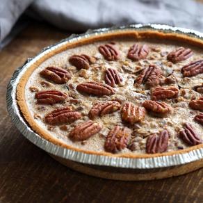 Vegan, Gluten-Free Pecan Pie