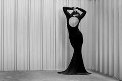 Asos Black Dress Robe Noire