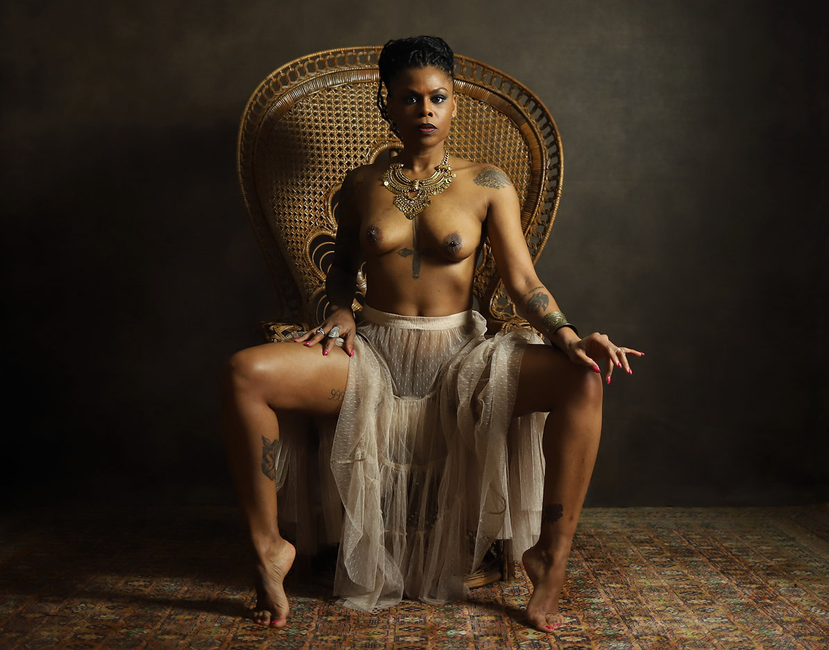 Be Barock / Model Art / Photogrphy / French / Inked / Black Women / Nude / Ornicar