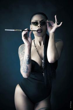 Body bustier noir Boohoo
