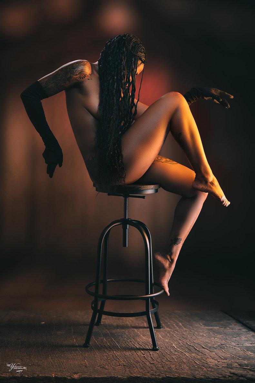 Be Barock / Model Art / Photogrphy / French / Inked / Black Women / Nude photoraphy / Yes Photographies