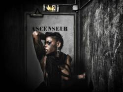 Black Dark Model Photography