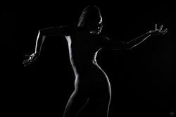 Be Barock Black Nude Model Art